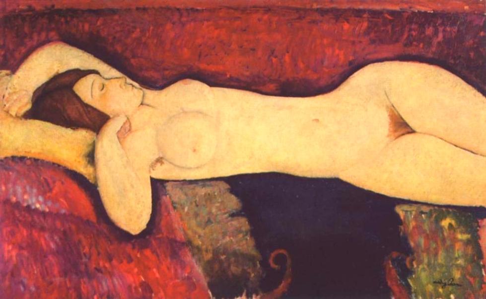 Amadeo Modigliani - Il grande nudo