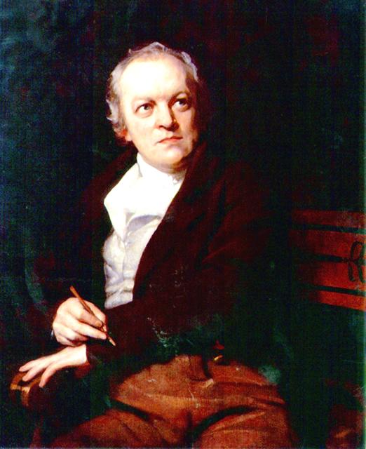 William Blake - by Thomas Phillips