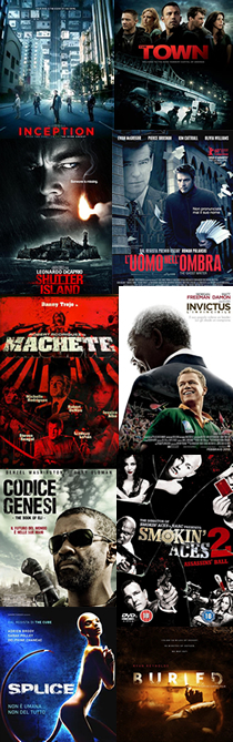 Top Ten 2010 - Cinema
