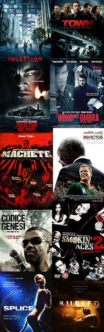 Top Ten 2010 - Cinema