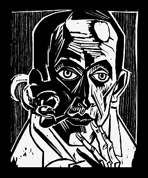 Baudelaire - pipe