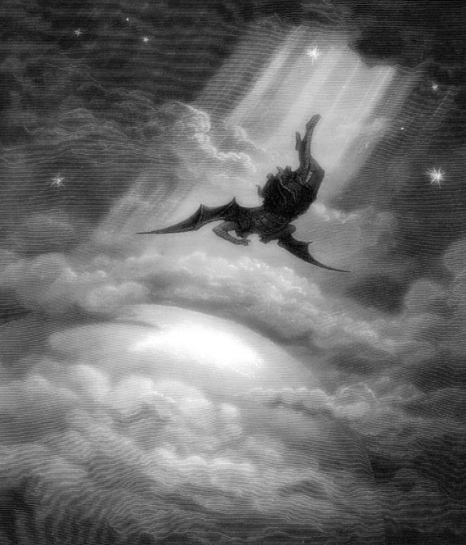 Doré - Lucifer's fall (Paradise Lost)