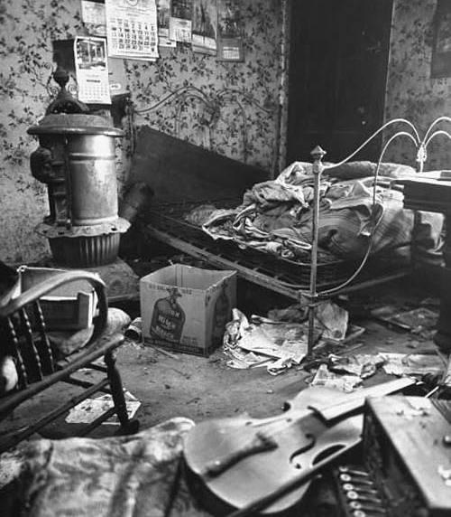 Gein's bedroom 1957