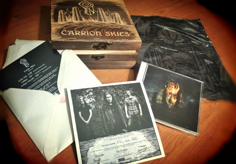 Fen - Carrion Skies wood box