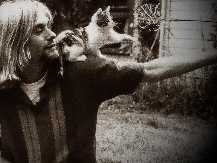 Kurt Cobain and Pupp