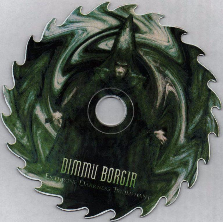 dimmu-borgir shaped cd