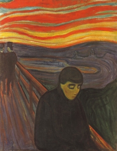 "E. Munch: ""Disperazione"", 1892"