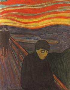 """E. Munch: """"Disperazione"""", 1892"""