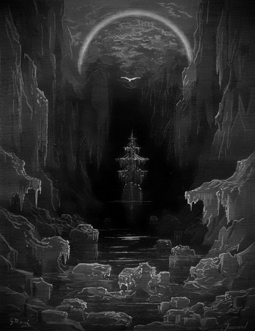 rime of the ancient mariner images